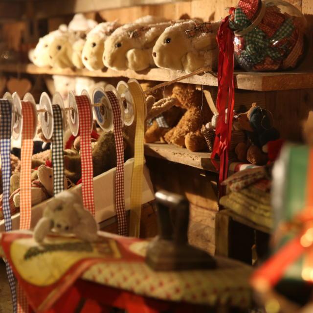 Atelier de la maison du Père Noël en Haute-Savoie