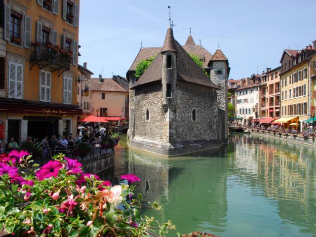 Les vieilles prisons d'Annecy