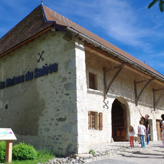 Centre d'interprétation, La Maison du saleve