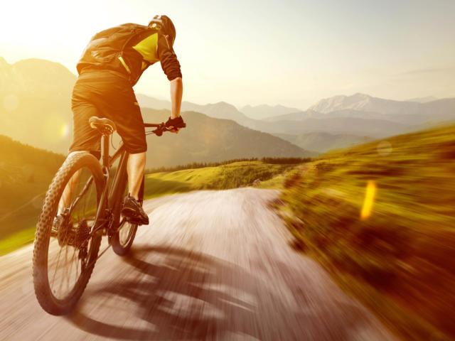 Vélo dans les Monts de Genève