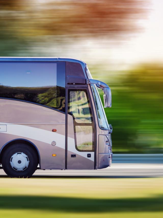 Fortbewegung mit dem Bus in den Monts de Genève