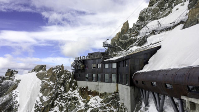 L'aiguille du Midi-Chamonix