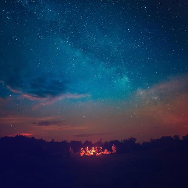 Apéritif sous les étoiles